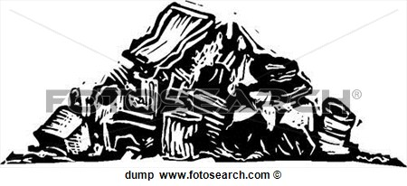 Clipart Of Dump Dump   Search Clip Art Illustration Murals Drawings