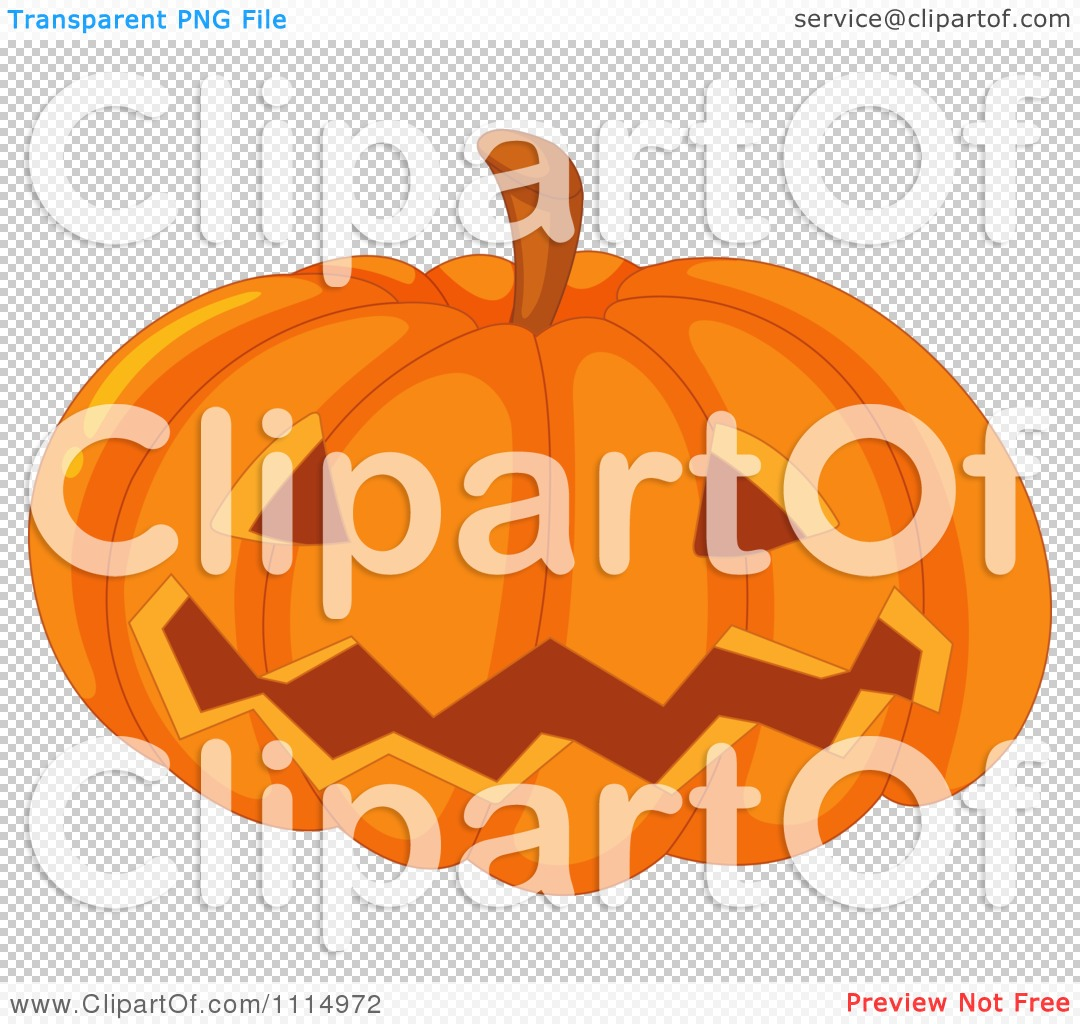 Clipart Worm Emerging From A Halloween Jackolantern Eye   Royalty Free