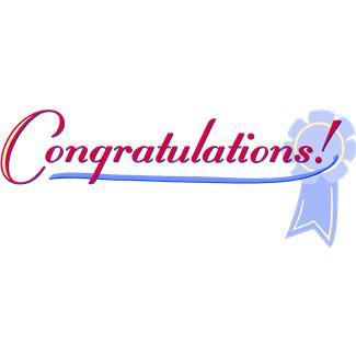 Congratulations Clip Art Free