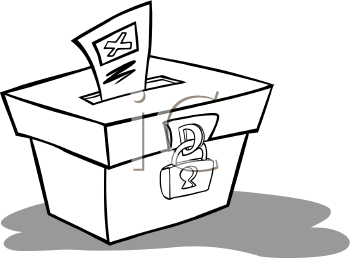 Election Day Black And White Clipart Clipart Suggest