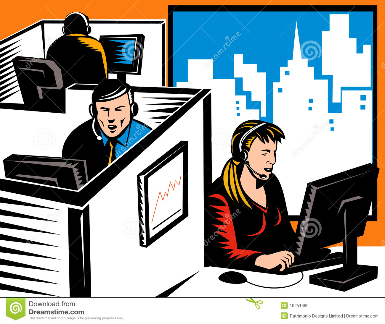 Working Office Workers Clipart Clipart Suggest