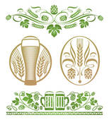 Hop And Beer   Royalty Free Clip Art