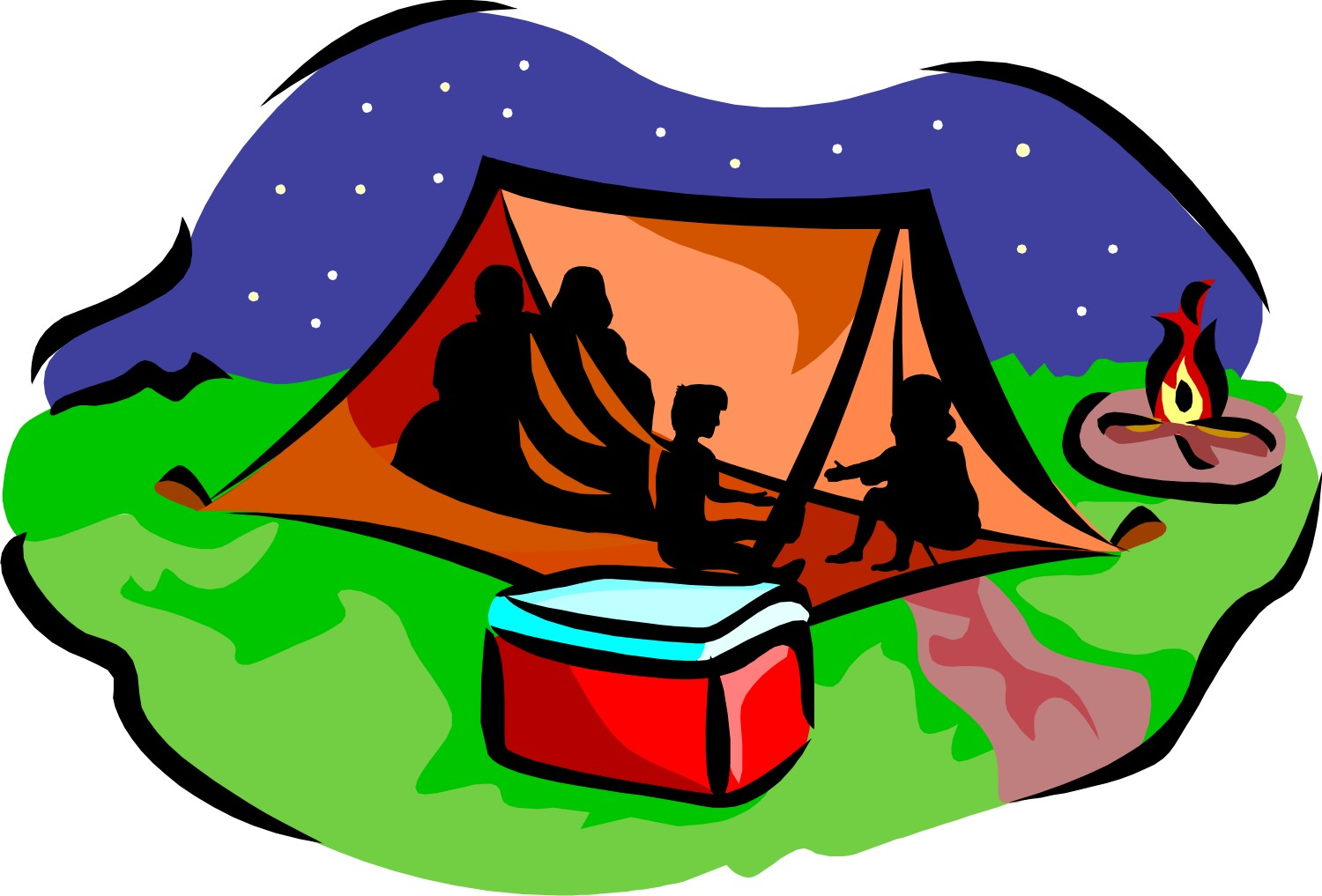 Kids Camp Clip Art
