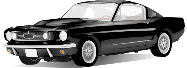 Old Style American Car Clip Art At Clker Com   Vector Clip Art Online