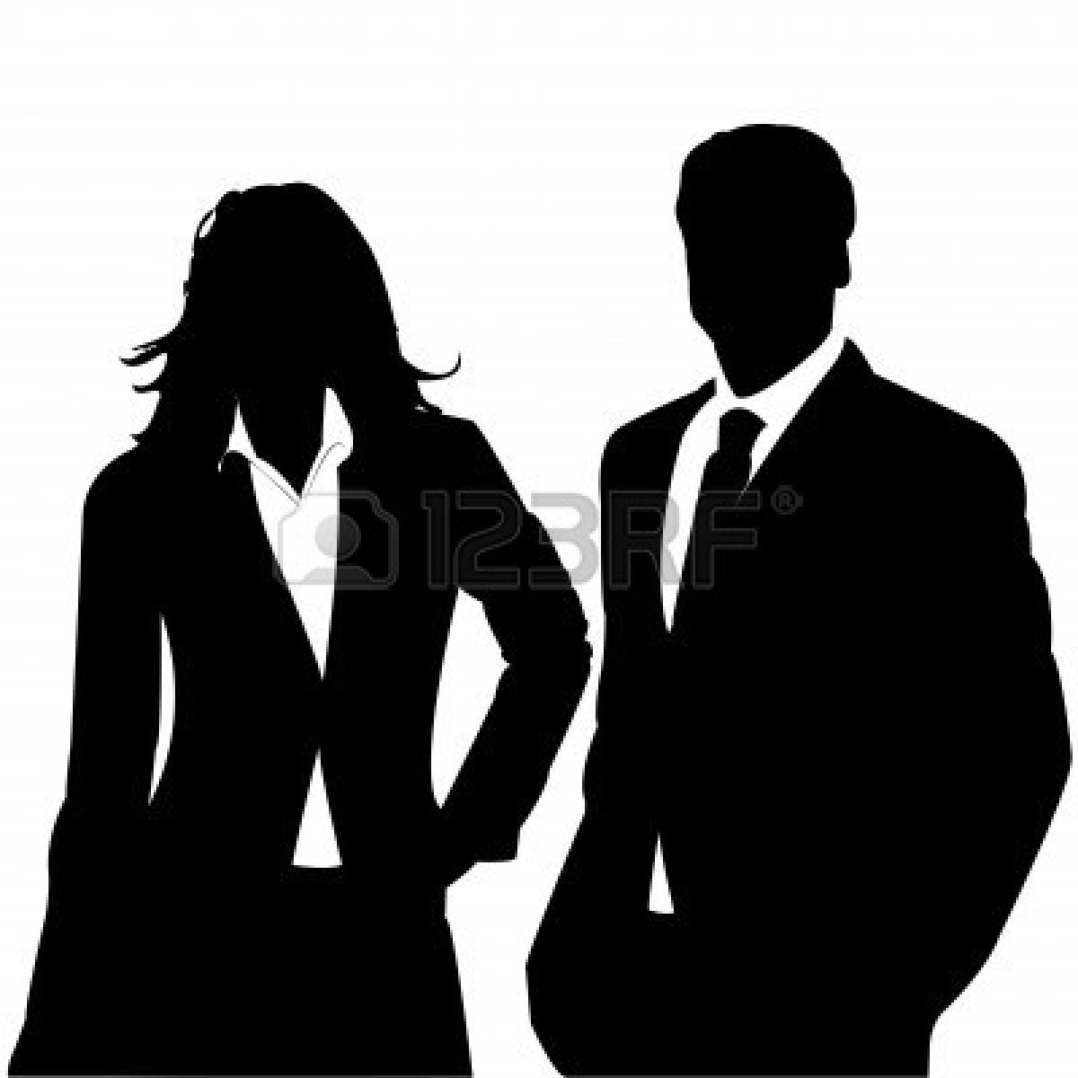 People Clipart Silhouette Business Clipart Panda Free Clipart