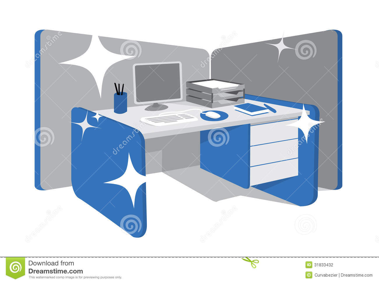 Perfectly Organized Workstation Stock Photography   Image  31833432