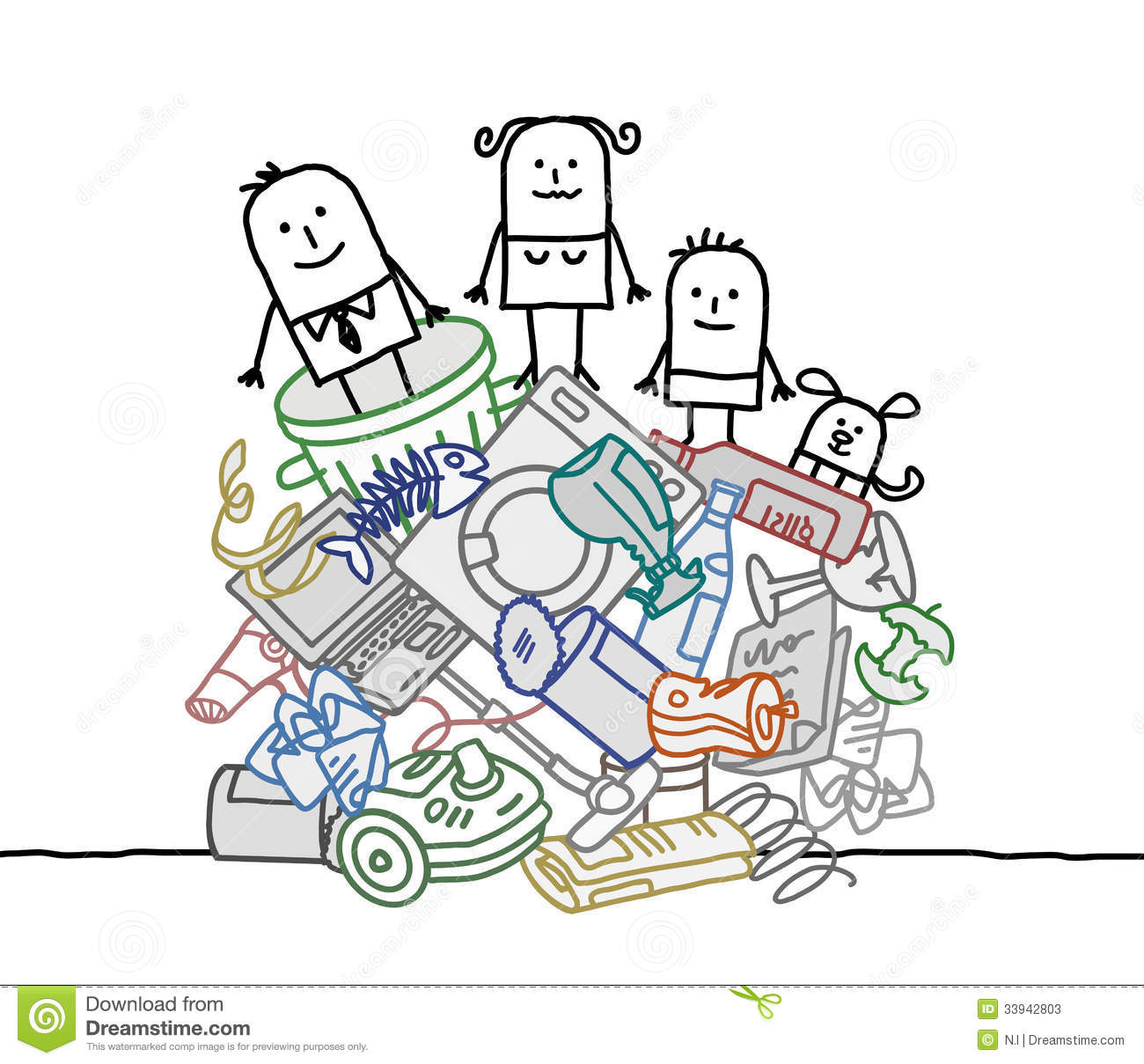 Pile Of Trash Clipart - Clipart Kid