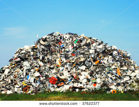 Pile Of Trash Clipart Pile Of Metallic Waste On A