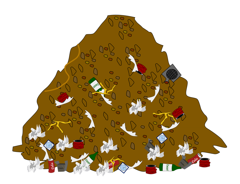 Pile Of Trash Clipart This Pile Of Garbage Clip Art