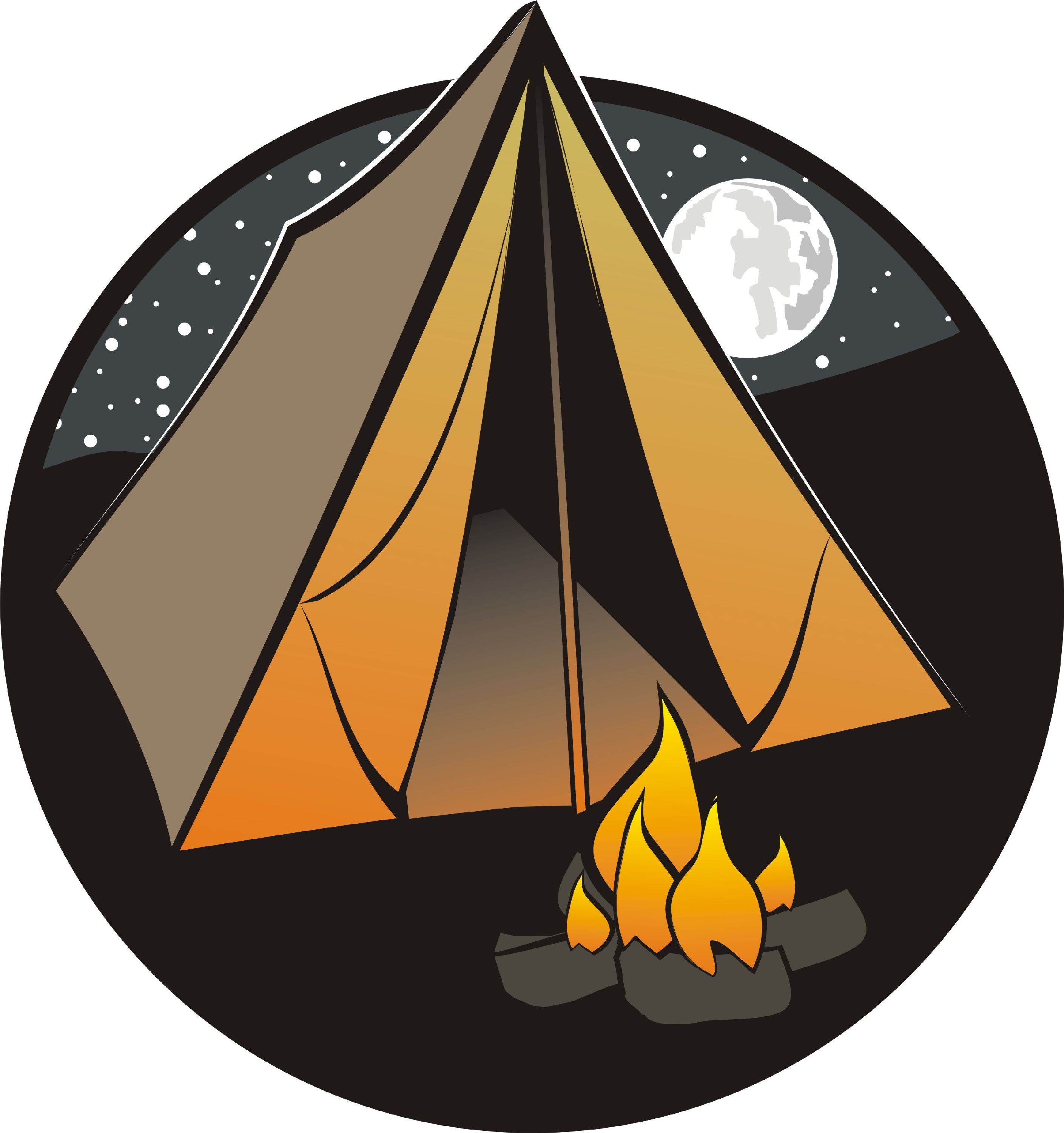 Image result for camping cartoon