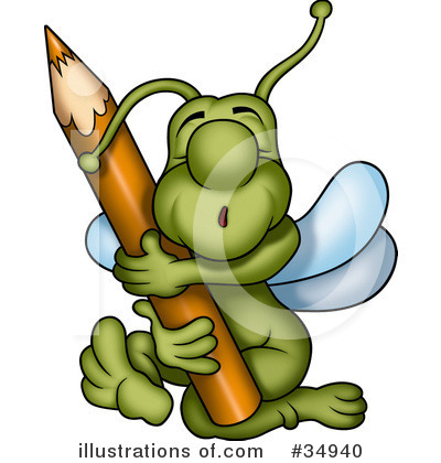 Royalty Free  Rf  Insect Clipart Illustration By Dero   Stock Sample