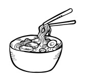 Soup Clipart Black And White   Clipart Panda   Free Clipart Images