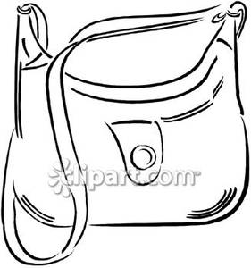 Similiar Purse Outline Clip Art Keywords