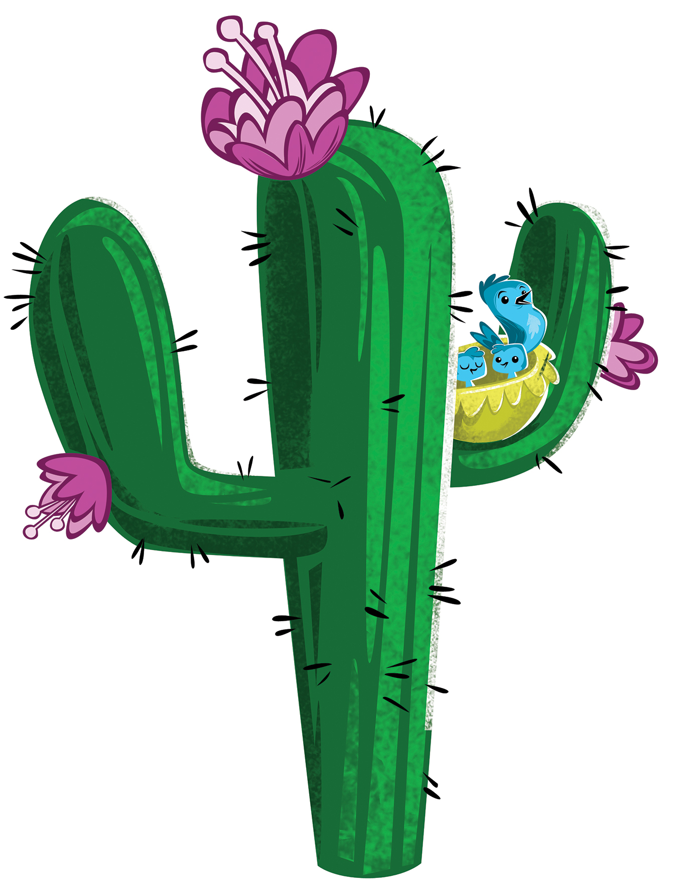 14 Cartoon Cactus   Free Cliparts That You Can Download To You