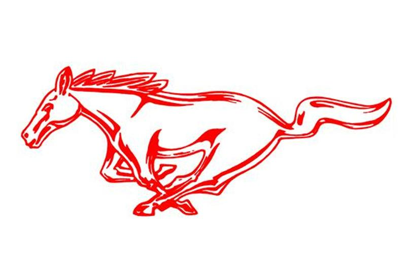 2010 2014 Mustang Running Horse Decals