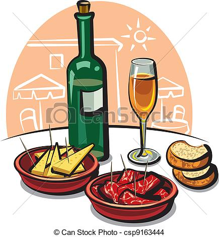 Appetizer Clipart Can Stock Photo Csp9163444 Jpg