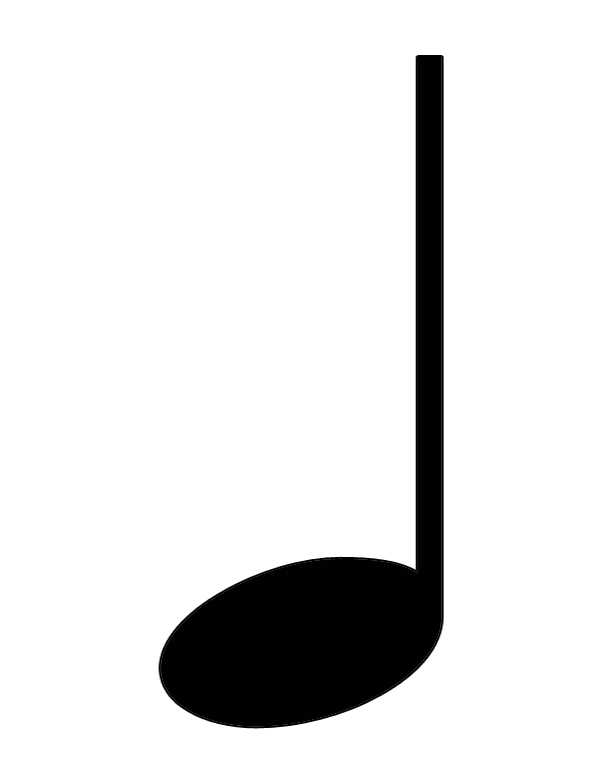 Blue Music Note Clipart Clipart Panda Free Clipart Images