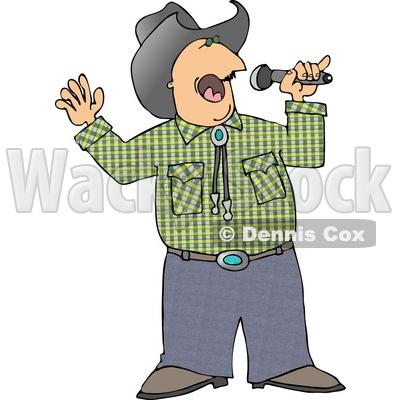Country Karaoke Clip Art