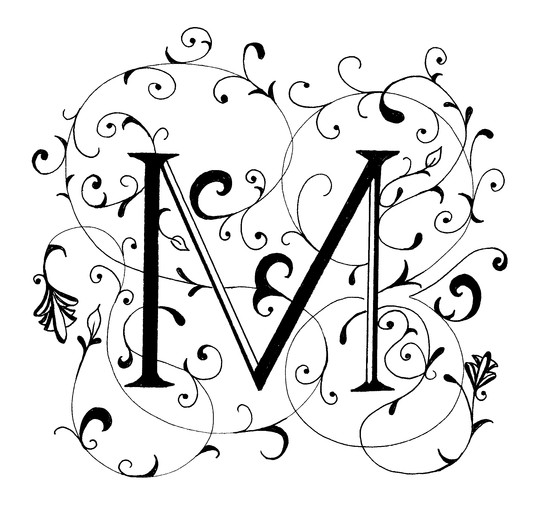 fancy letter m fancy letter m clipart clipart suggest 256
