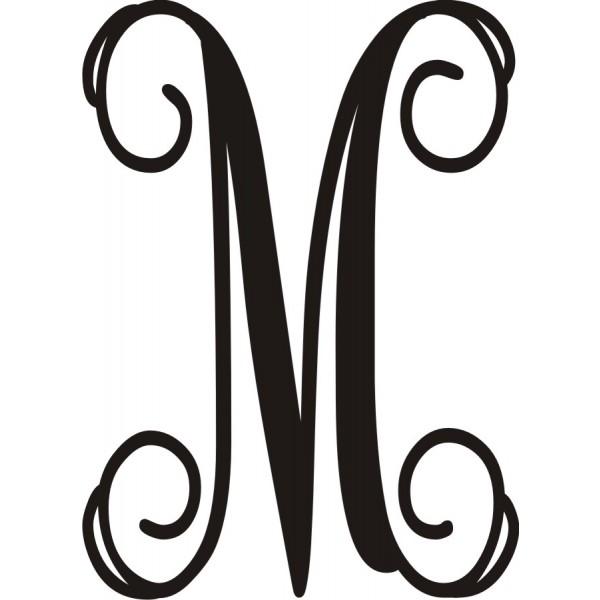 fancy letter m clipart clipart suggest