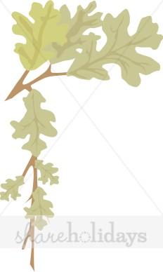 Oak Leaf Border