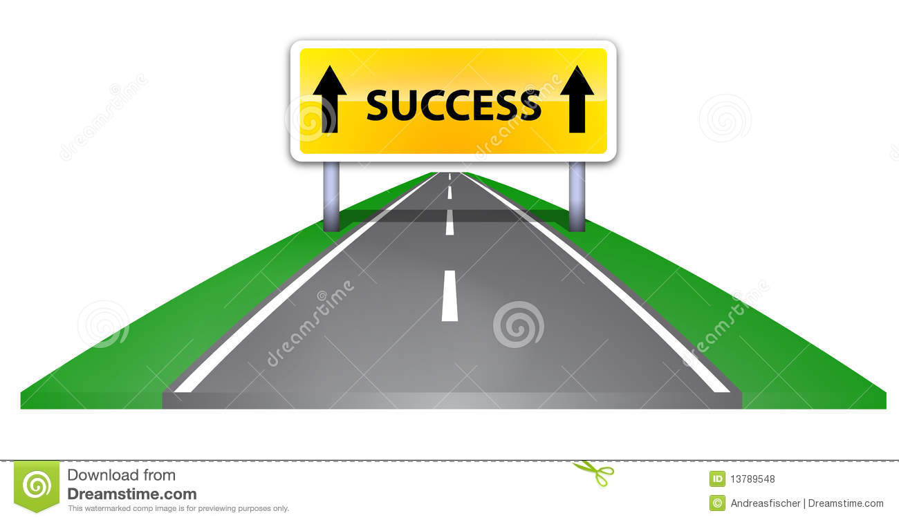 Path To Success Clipart Road To Success Royalty Free