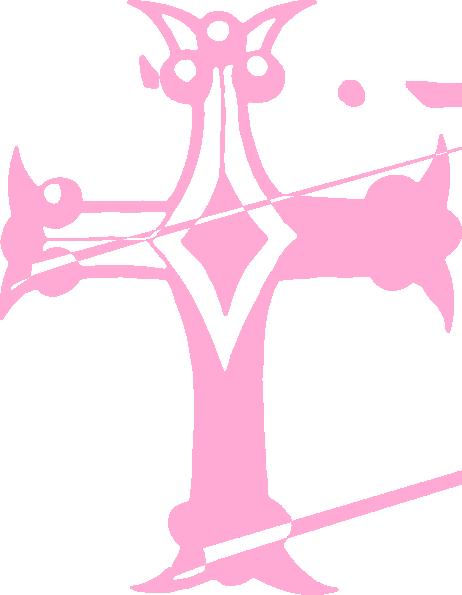 Pink Baptism Cross Clip Art – Cliparts
