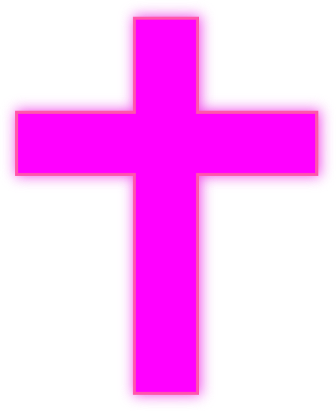 Pink Cross Clipart - Clipart Kid
