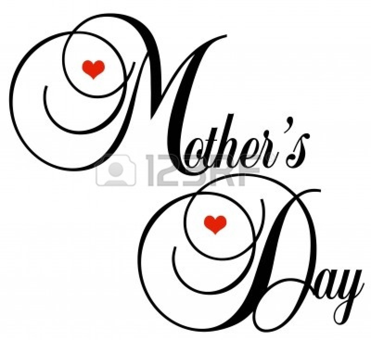 Mother's Day Heart Clipart - Clipart Kid