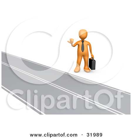 Road To Success Clipart Clipart Illustration Of An