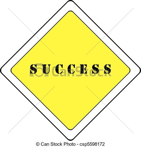 Road To Success Detailed Illustration Of A Highway Clipart   Free Clip