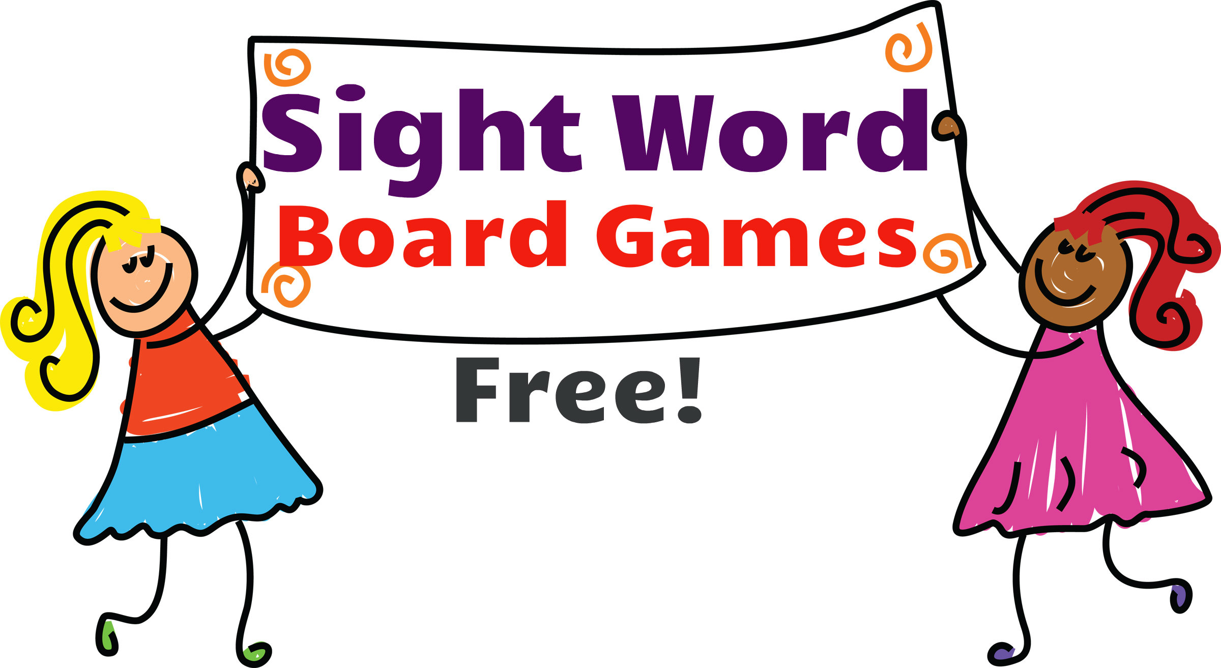 Sight Words Clipart Free Sight Words Board Games