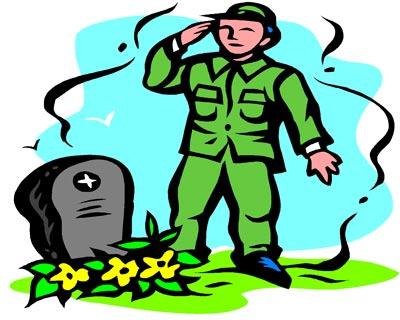 Clip Art Veterans Clip Art veteran salute clipart kid saluting a grave on s day