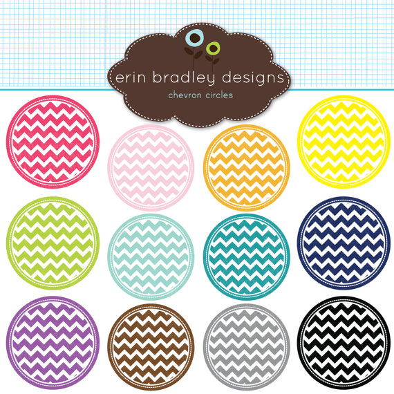 Clip Art Chevron Clip Art chevron circle clipart kid 50 off sale circles clip art by erinbradleydesigns