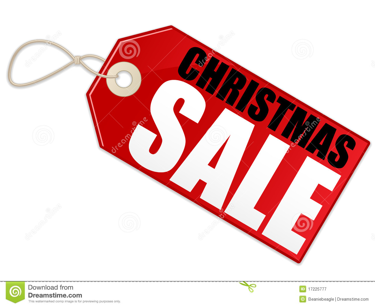 An Illustration Of A Sale Tag Advertising A Christmas Sale  Shadow