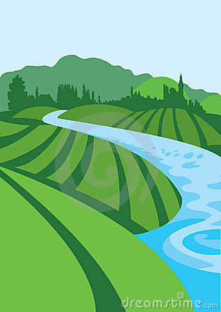 Flowing River Clipart Flowing River Clip Art