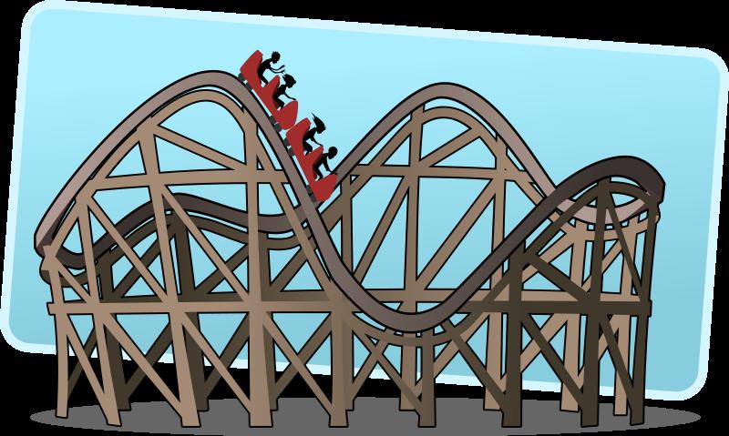 Free Roller Coaster Clip Art