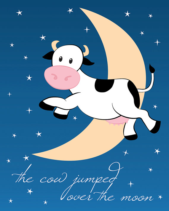 The Cow Jumped Over Moon Slubne