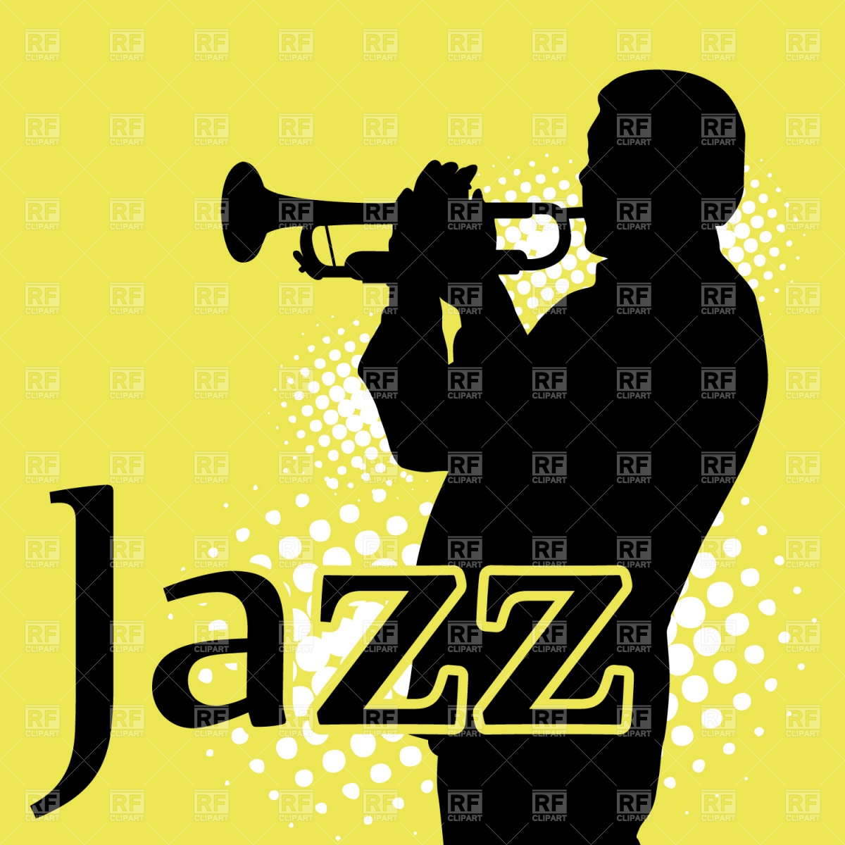 Jazz Musician Playing Trumpet 1165 People Download Royalty Free