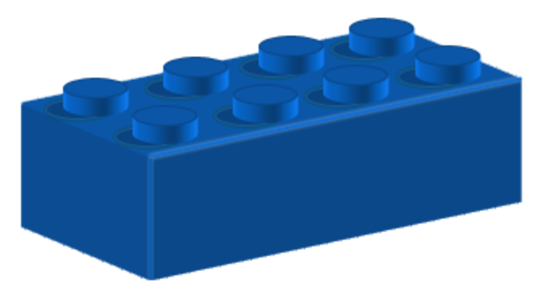 lego brick side view clipart - photo #47