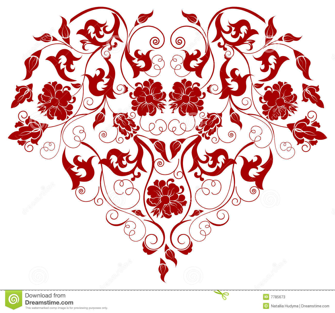 Filigree Heart Clipart - Clipart Suggest