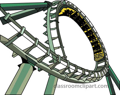 Roller Coaster Clipart Png Png With Transparent