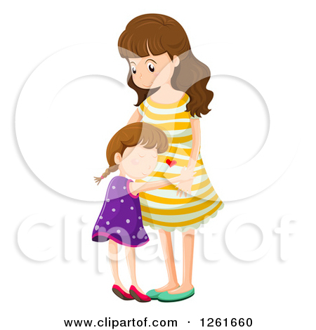 Pregnant Mommy Clipart - Clipart Kid