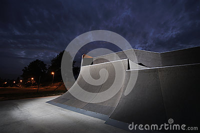 Skatepark Stock Photo   Image  49193133