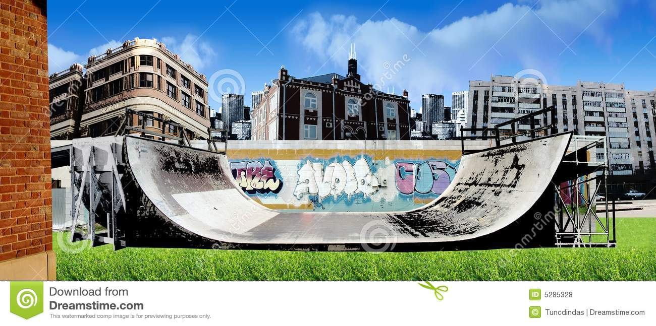 Urban Skate Freestyle Ramp Royalty Free Stock Photos   Image  5285328