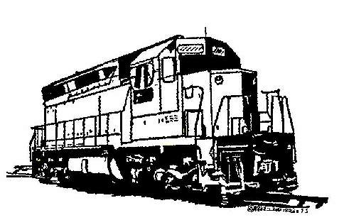 Western Sierra Railroad   Railroad Clipart