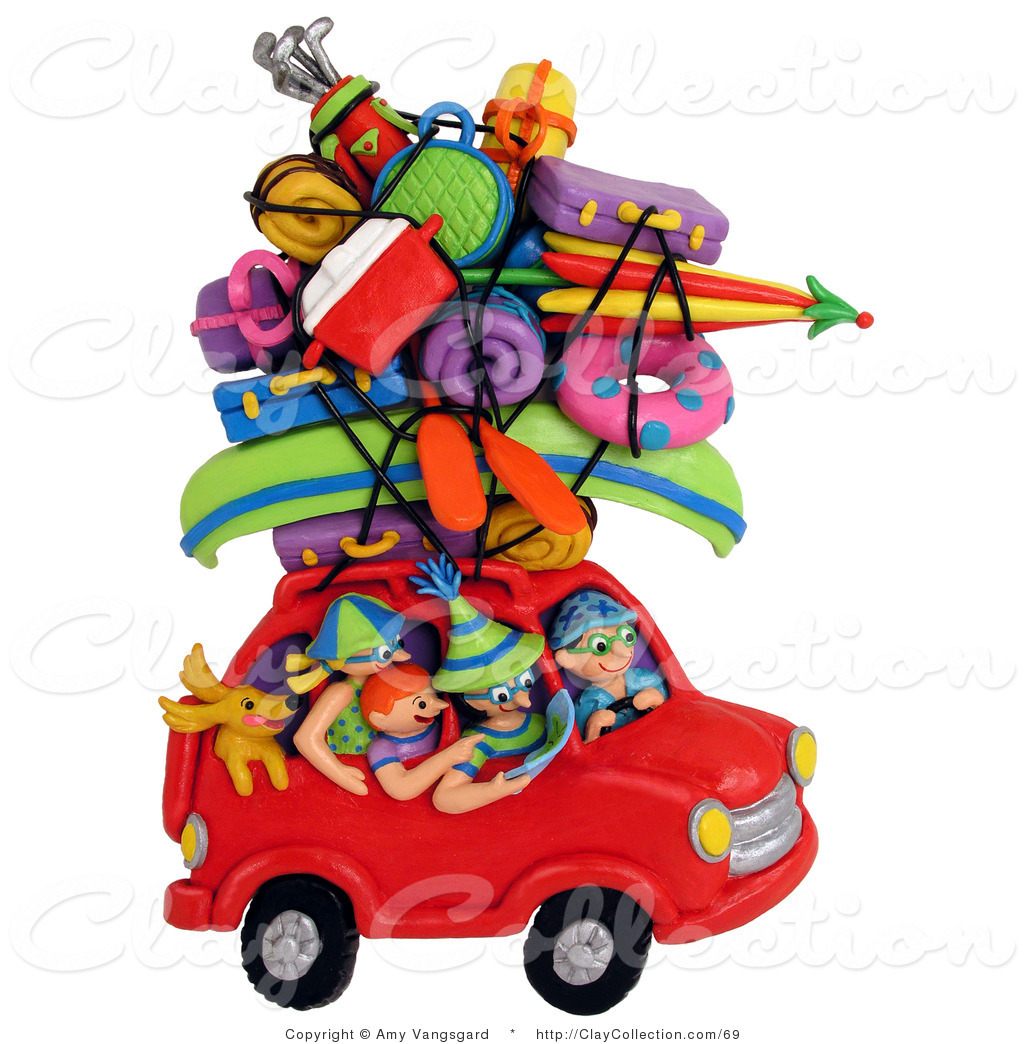 Car With Luggage Clipart Car With Luggage On Top