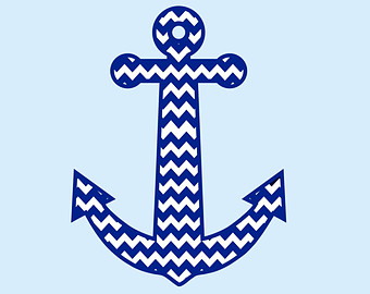 Chevron With Anchor Clipart   Free Clip Art Images