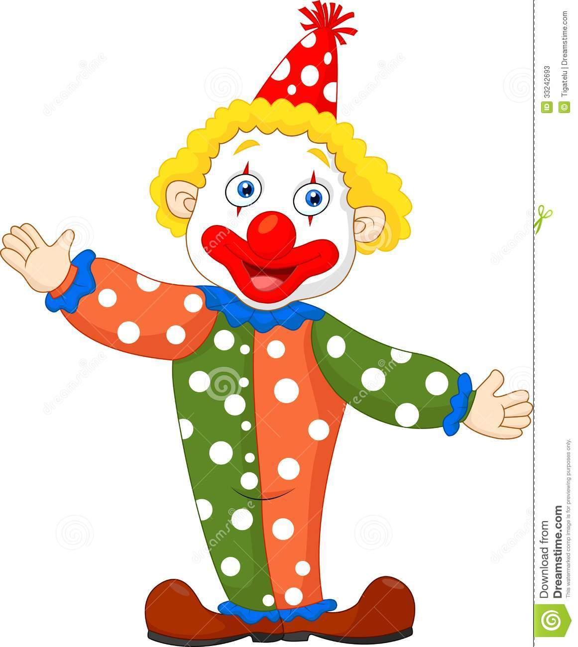 Cartoon Clown Clipart - Clipart Kid
