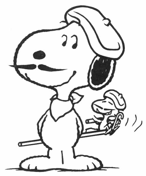 Snoopy Camping Clipart - Clipart Kid
